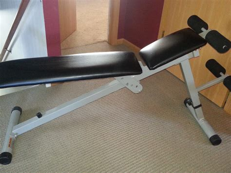 Weider Pro 125 Adjustable Weight Bench Plainfield Il Patch