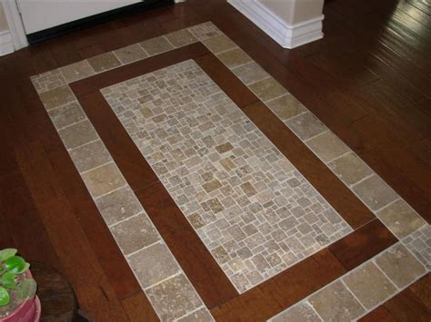 tile inlay 17 best images about flooring design on entry