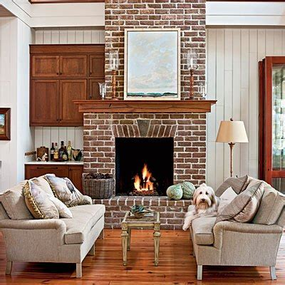 southern living fireplaces 10 brick and stone fireplaces