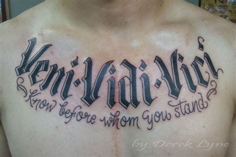 vidi veni vici tattoo designs pin veni vidi vici pictures at checkoutmyinkcom on