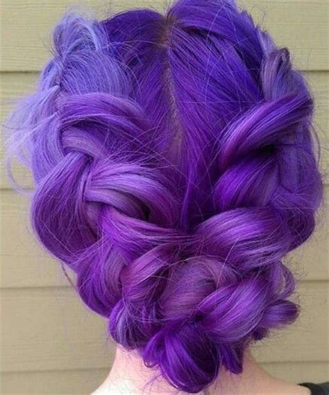 How To Section Hair For Dying by Tips On How To Dye Your Hair Purple