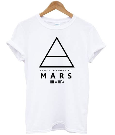 Tshirt From Mars 30 seconds to mars unisex t shirt stylecotton