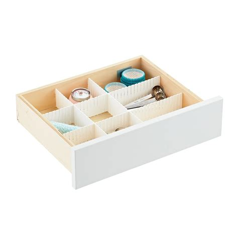 Interlocking Drawer Organizer by Slotted Interlocking Drawer Organizers The Container Store