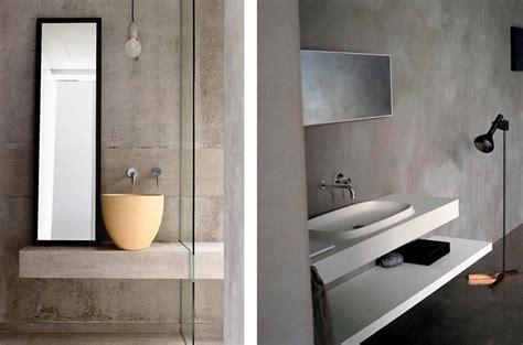 vasca da bagno in cemento foto pareti in cemento nel bagno di valeria treste