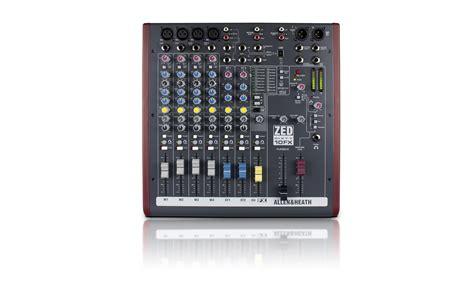 Mixer Allen Heath Zed 10fx allen heath zed 6010fx mixer