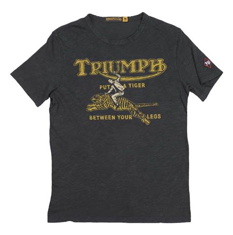 johnson motors t shirts triumph johnson motors tiger t shirt revzilla