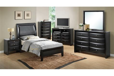 Black Twin Bedroom Furniture Sets | bedroom sets lauran black twin size bedroom set