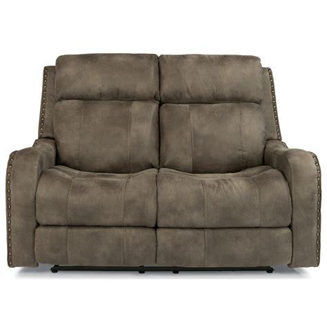 flexsteel reclining loveseat flexsteel latitudes springfield 1418 60ph power reclining