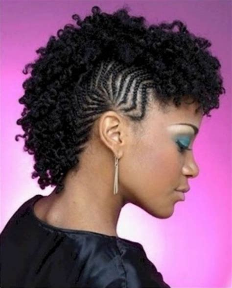 Black Mohawk Hairstyles by Best Mohawk Braided Hairstyles For Black Charming