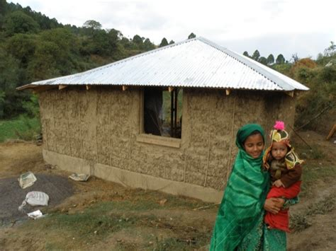 Kitchen Designs For Small Space Micro Financed Straw Houses For Pakistan Are Quake Proof