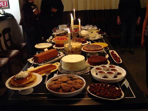 dessertbuzz jm turns 25 birthday dessert tasting