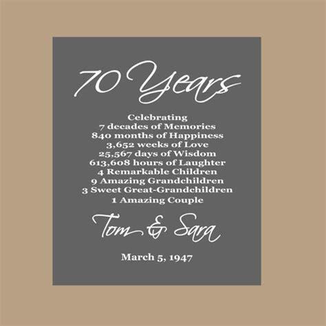 anniversary print platinum anniversary