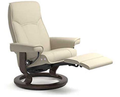 Stressless Senator Recliner by Stressless Power Legcomfort Classic Wood Base For Ekornes