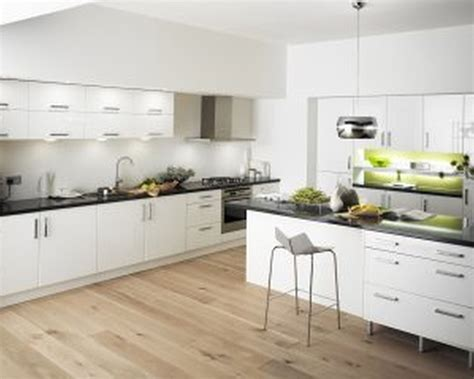 Modern Kitchen With White Cabinets White Modern Kitchen Cabinets Tjihome
