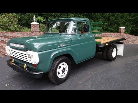 Towne Ford by 1959 Ford F350 Flatbed Truck For Sale Town Automobile