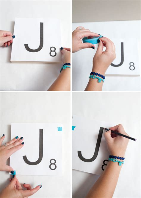 how to make scrabble how to make scrabble tile table numbers