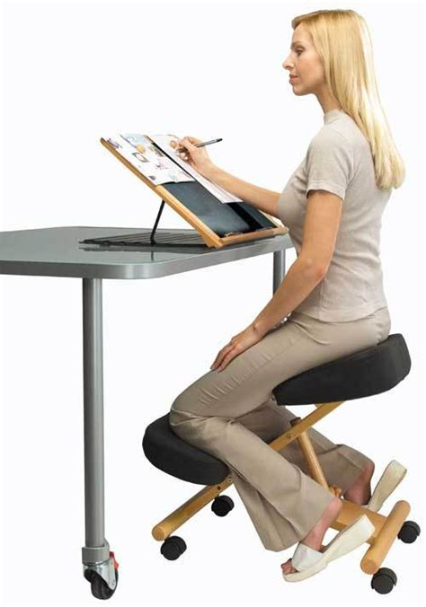 Leaning Back In Chair Posture by 15 Best Active Sitting Chairs For Better Posture