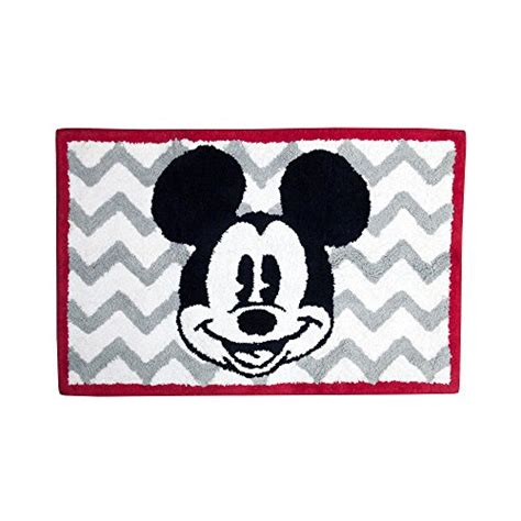 mickey mouse bath rug upc 032281093341 disney chevron mickey mouse bath rug