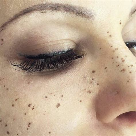 tattoo with freckles tattooing freckles on your face is the new beauty craze