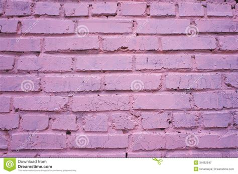 pink brick wall pink brick wall with shabby paint royalty free stock image