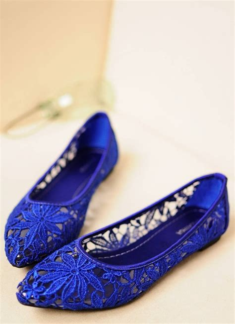 blue shoes flats blue flats great to dress up or shoes