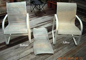 lawn furniture repair woodard replacement slings go search for tips