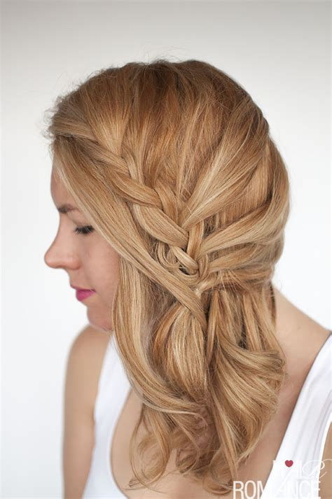 How To Do Side Swept Hairstyles by Easy Lace Braid The Side Swept Hairstyle Tutorial Hair