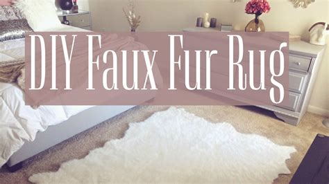 Diy Faux Fur Rug by Diy Faux Fur Rug