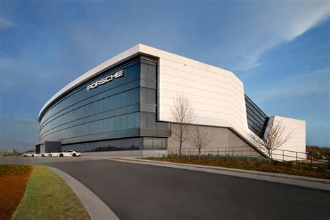 porsche headquarters porsche opens hq in atlanta 187 autoguide com
