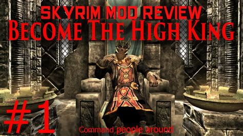 The High King Of Montival 1 skyrim mod walkthrough the high king part 1