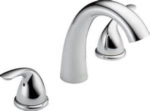 delta 174 classic 2 handle ledge mount garden tub faucet trim