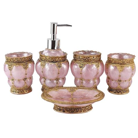 elegant bathroom accessories sets high quality delicate elegant bathroom accessories set