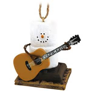 s mores ornaments s mores with guitar ornament bronner s