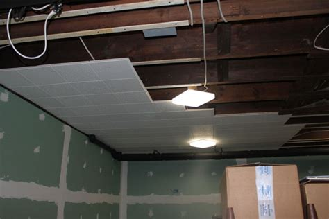 Furred Ceiling Building A Basement Theater Advice On Projector Screen