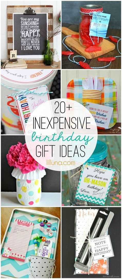 best gift ideas 20 inexpensive birthday gift ideas must check out all