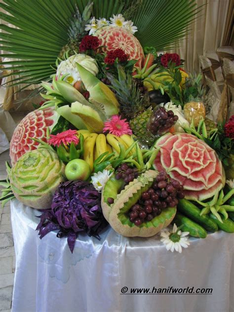 Fruit Table Decoration by Meals Foods