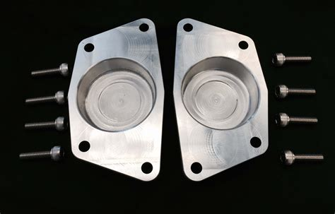 wagenswest billet vw bus torsion spring plate caps