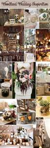 woodland theme wedding bridal blog