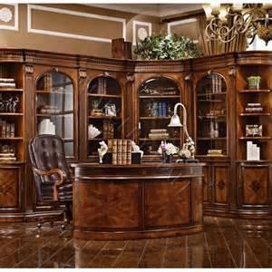 Solid kidney shaped mahogany executive desk