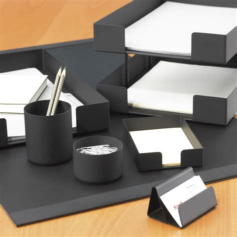 Office Desk Set Accessories Smokador Collection Knoll
