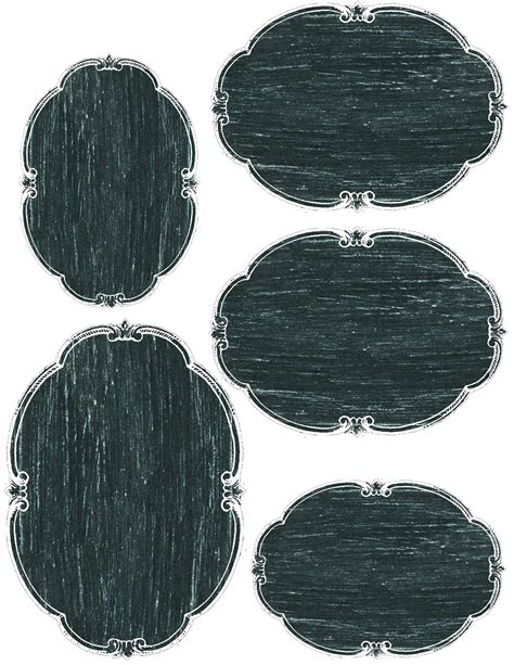 printable oval tags lilac lavender printable chalkboard tags labels and more
