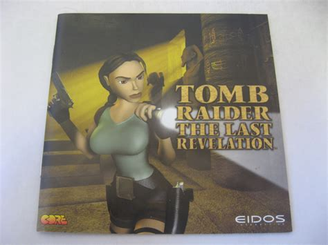 Tomb Raider Iv The Last Revelation Manual Dc