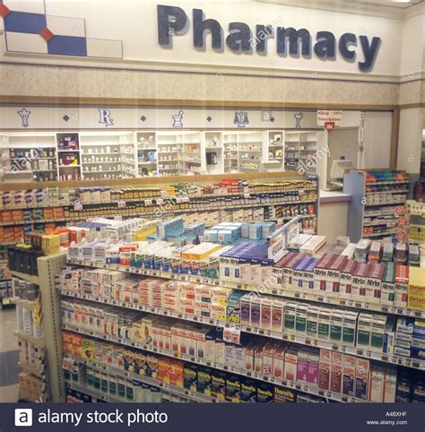 pharmacy usa pharmacy retail drugstore store in usa stock photo