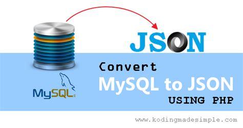 convert codeigniter ke pdf margonulis blogspot com how to convert data from mysql to json using php