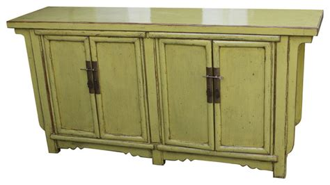 Green Buffet Cabinet by Lime Green Vintage Cabinet Buffets And