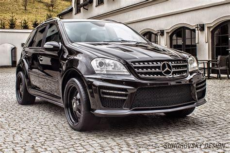 mercedes black on black black on black mercedes w164 ml class mae wheels
