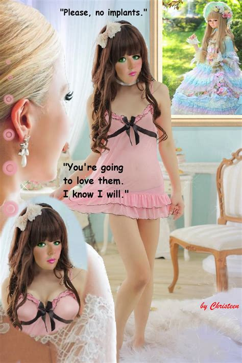 christeen sissy art captions smooth slick n shiny the kinky dreams of andy latex