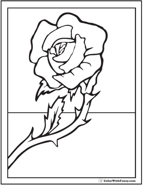 small rose coloring page 73 rose coloring pages customize pdf printables