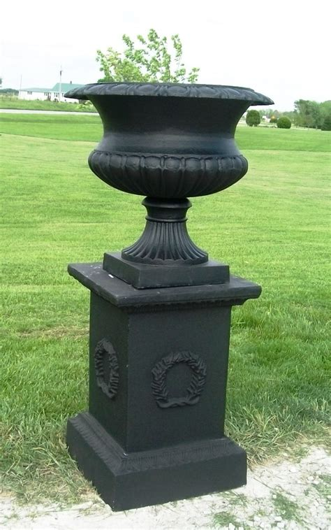 Cast Garden Planters by Sling Cast Iron Containers