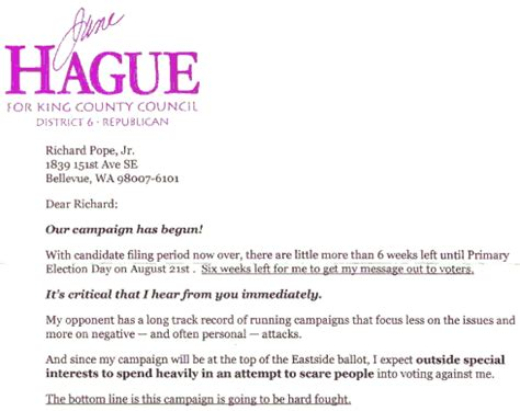 political fundraising letter template sle political caign donation request letter